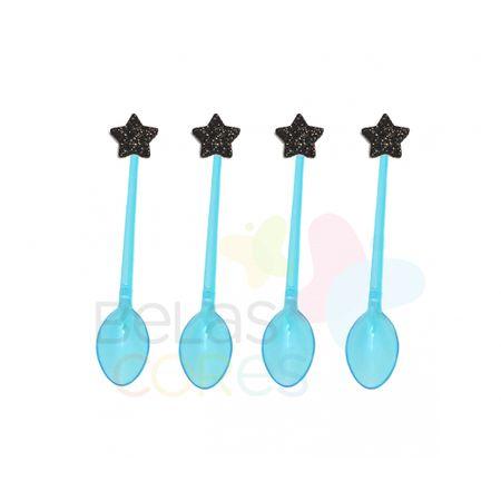 colherzinha-acrilica-azul-aplique-estrela-preto-tamanho-pp-50-unidades