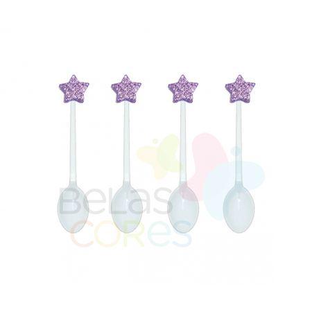 colherzinha-acrilica-branca-aplique-estrela-lilas-tamanho-pp-50-unidades