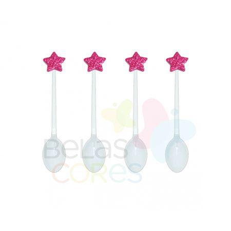 colherzinha-acrilica-branca-aplique-estrela-pink-tamanho-pp-50-unidades