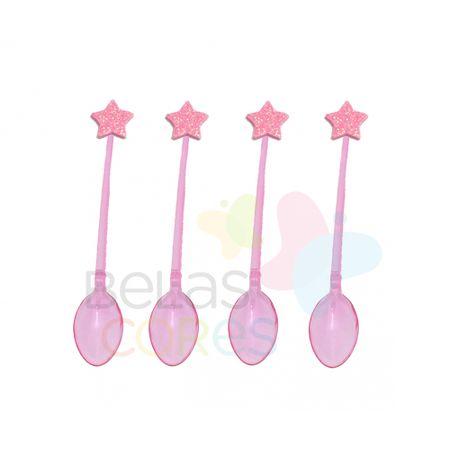 colherzinha-acrilica-rosa-aplique-estrela-rosa-tamanho-pp-50-unidades