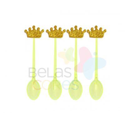 colherzinha-acrilica-amarela-aplique-coroa-ouro-tamanho-p-50-unidades