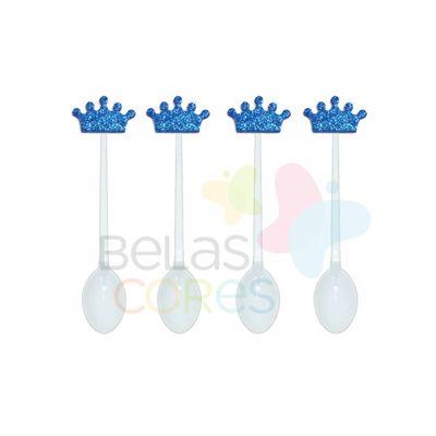 colherzinha-acrilica-branca-aplique-coroa-azul-escuro-tamanho-p-50-unidades
