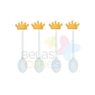 colherzinha-acrilica-branca-aplique-coroa-laranja-tamanho-p-50-unidades
