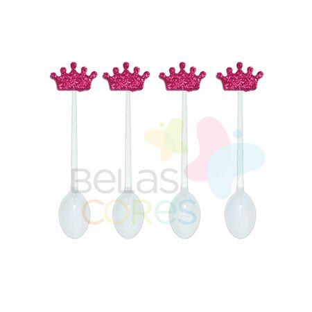 colherzinha-acrilica-branca-aplique-coroa-pink-tamanho-p-50-unidades