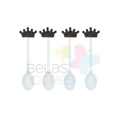 colherzinha-acrilica-branca-aplique-coroa-preto-tamanho-p-50-unidades