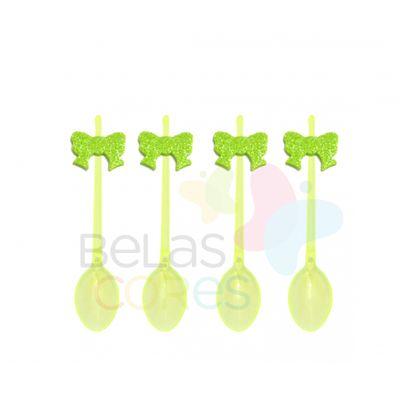 colherzinha-acrilica-amarela-aplique-laco-verde-claro-tamanho-p-50-unidades