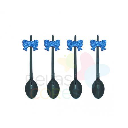 colherzinha-acrilica-preta-aplique-laco-azul-escuro-tamanho-p-50-unidades