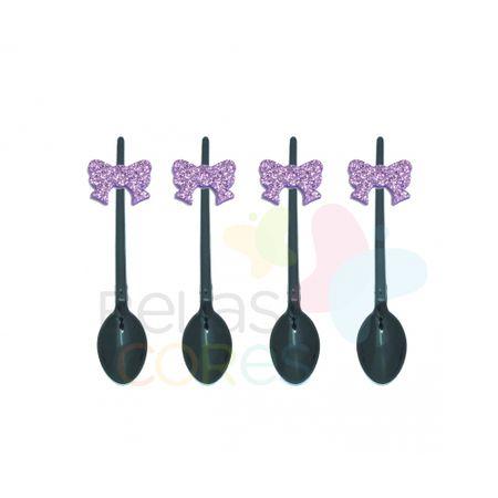 colherzinha-acrilica-preta-aplique-laco-lilas-tamanho-p-50-unidades
