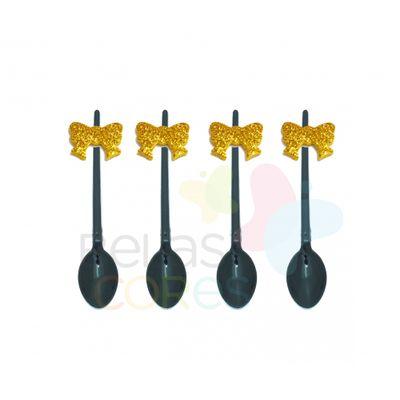 colherzinha-acrilica-preta-aplique-laco-ouro-tamanho-p-50-unidades