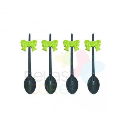colherzinha-acrilica-preta-aplique-laco-verde-claro-tamanho-p-50-unidades