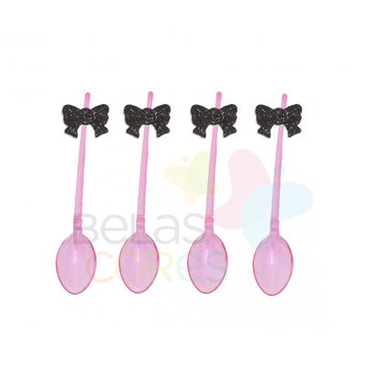colherzinha-acrilica-rosa-aplique-laco-preto-tamanho-p-50-unidades