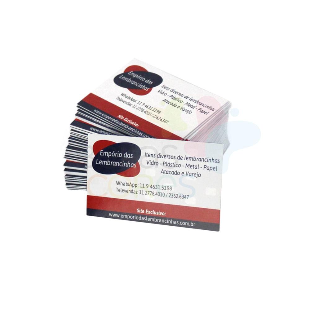 Cartão de Visita Personalizado com Verniz Localizado - 500 unidades -  belascores 53eae897ca